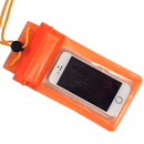 GOGO Waterproof Case/Pouch with Strap, Triple Zip-Lock Seal, Adjustable Strap Flap, Fits iPhone6, Smart Phones below 5.0 Inch
