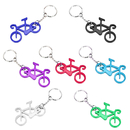 Aspire Bicycle Shaped Bottle Opener with Key Chain, 2 1/2