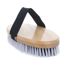 Aspire Wooden Horse Brush, Horse Hair Brush with Handle, 7.5