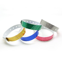 (Price/100 Pcs) GOGO Holographic Wristband, Security ID Wristbands, Party Favors
