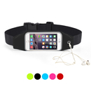 Opromo Running Belt Waist Pack Adjustable Water resistant Sports Fanny Pack with Reflective Clear Touch Screen - Fitness Workout Belt for All Phones