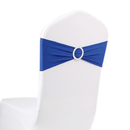 ASPIRE Stretchy Chair Cover Bands with Ring Buckle 6 x 28 inches, Wholesale