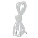 TopTie 100 Pairs Half Round Shoelaces Various Colors Bulk