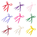 TopTie 100 Pairs Wholesale Satin Shoelaces, Wide Ribbon Shoelaces for Dance Shoes Sport Shoes