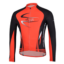 Custom Winter Cycling Fleece Long Jersey, Men's