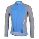 Blank Winter Cycling Fleece Long Jersey, Men's