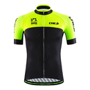 Custom Men's Short Sleeve Breathable Mesh Cycling Jersey - Bike Biking Shirt
