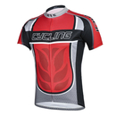 Custom Men's Cycling Jerseys Tops Biking Shirts Short Sleeve Bike Clothing Full Zipper Bicycle Jacket