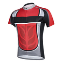 Blank Men's Cycling Jerseys Tops Biking Shirts Short Sleeve Bike Clothing Full Zipper Bicycle Jacket