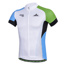 Custom Men's Short Sleeve Cycling Jersey Full Zip Moisture Wicking, Breathable Running Top - Bike Shirt
