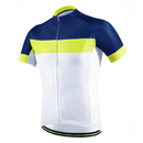 Blank Men's Short Sleeve Cycling Jersey, Bike Biking Shirt- Breathable and Quick Dry