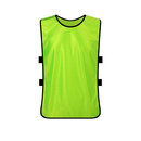 Blank Training Vests, Sports Pinnies for Football / Soccer Team, Adult & Youth & X-Large