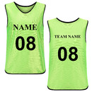 Custom Scrimmage Training Vests Soccer Bibs Adult