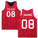 TOPTIE Custom Basketball Jersey (Outside Name/Number) Reversible Mesh Tank Top Scrimmage Jersey