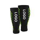 TOPTIE Custom 1 Pair Calf Compression Sleeve Leg Compression Socks For Men Women Support for Running Basketball Football Volleyball