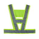Blank GOGO High Visibility Safety Vest With Reflective Strips