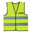 GOGO Customized Child Reflective Safety Vest For Outdoors Sports, Printed HiVis Logo Preschool Uniforms