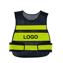 Custom GOGO Industrial Safety Vest with Reflective Stripes, Mesh