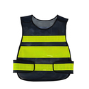 Blank GOGO Industrial Safety Vest with Reflective Stripes, Mesh