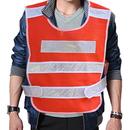 Blank GOGO High Visibility Reflective Safety Vest, Mesh Safety Vest