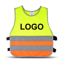 Custom GOGO Kid's Reflective Vest, For Running Cycling, Walking Safety Vest