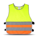 Blank GOGO Kid's Reflective Vest, For Running Cycling, Walking Safety Vest