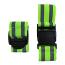 Blank GOGO High Visibility Safety Belt / Wristband For Running, Safety Gear, 2 Pcs