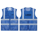 GOGO Custom Kid's Mesh Safety Vest Volunteer Activity Vest with Reflective Strips, High Visivility Reflective Running Vest