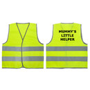 GOGO High Visibility Kids Safety Vest for Construction Costume, Mummy's Little Helper