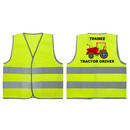 GOGO High Visibility Kids Safety Vest for Construction Costume, Trainee Tractor Driver
