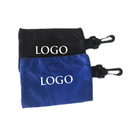 GOGO Custom Golf Valuables Pouch, Accessory Bag With Zipper And Hook, Nylon Tool Pouch