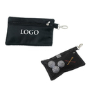 GOGO Custom Valuables & Accessories Golf Bag, Golf Pouch With Carabiner Clip