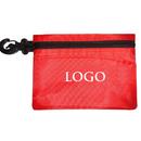 GOGO Custom Golf Valuables Accessory Pouch, Tee Holder, Ditty Tool Bag Zippered