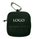 GOGO Custom Golf Tee Pouch Neoprene, Sports Premium Caddy Pouch With Zipper And Carabiner Clip