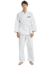 Embroidered Martial Arts Karate Uniform Set, Custom Student Uniform Add Name and Logo
