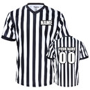 TOPTIE Wholesale Custom Printing Embroidery Juniors' V-Neck Referee Shirt Jersey