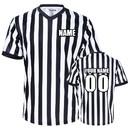 TOPTIE Wholesale Custom Printing Embroidery V-Neck Referee Shirt Jersey