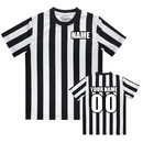 TOPTIE Custom Embroidered Children's Referee Shirt Costume Toddlers Kids Jersey