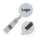 Personalize Spring Clip Round ID Card Badge Reel