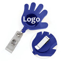 Custom Name Holder Reel With Belt Splint Cute Hand Shape