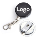 Personalize All Metal Reinforced Steel Cord Retractable Reels With Heavy-Duty Long Lasting Key Ring