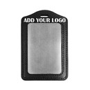 GOGO Promotional Badge Holder, Durable Faux Leather with High-capacity, Great for ID Card Credit Card