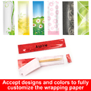 Custom Individual PE Coated Paper Wrapped Tooth Picks Pack of 100, Bulk Sale