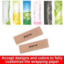 Custom Craft Paper Wrapped Plastic Dental Floss 100 Bags per Pack, Bulk Sale