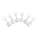 Aspire Metal Photo Frame Keychain, Great for Promotion - Wholesale