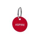 Aspire Custom Acrylic Key ID Tags with Key Ring, 10-pcs