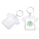 Aspire Custom Acrylic Photo Keychains, 2 Inches Cute Shirt Shape