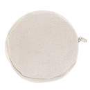 Aspire Sample Round Canvas Coin Purses, Blank Round Zipper Pouch