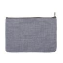 Aspire Canvas Pouch with Zipper, DIY Fabric Bag, 6 3/4 x 4 1/4 Inch