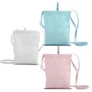 Aspire DIY Canvas Cross Body Pouch for Kids, Shoulder Purse, Blank Travel Bag
